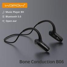 [Новый] wopow b06 костная проводимость bluetooth беспроводная