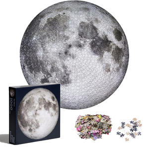 Puzzle Gift Round Moon Adult Large 1000pieces High-Difficulty Kid