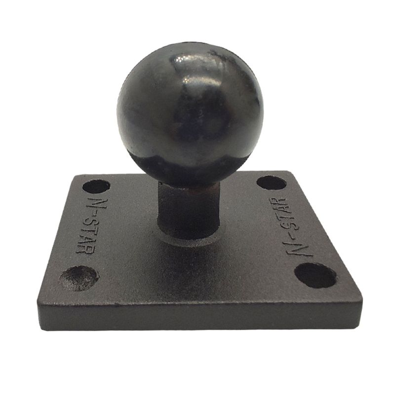 Aluminum Square Mount Base With Ball Head For Ram Mount For Garmin Zumo/TomTom