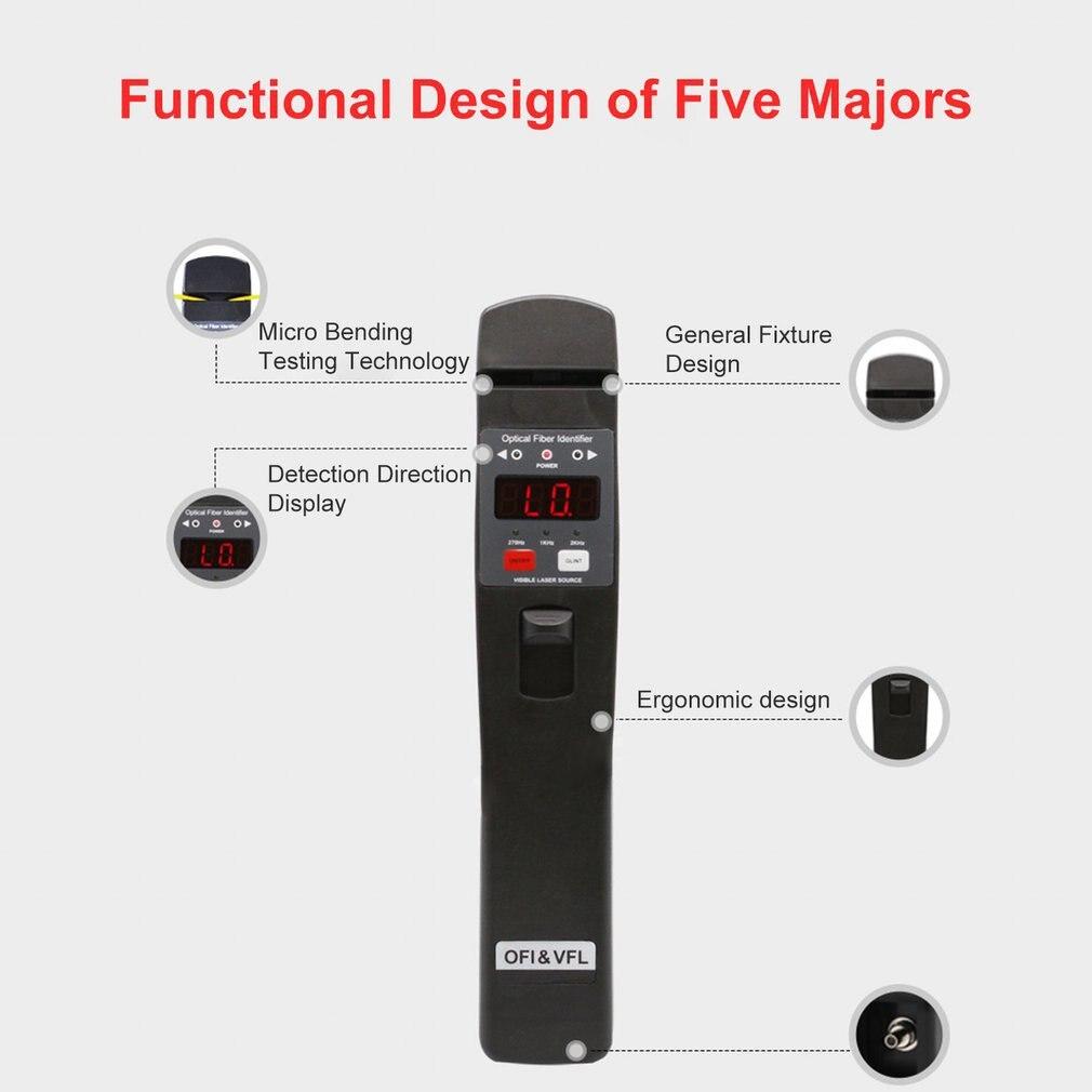 alto desempenho 10mw localizador visual falha fibra