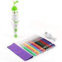 Creatieve Elektrische Spray Art Pen Airbrush Marker Set Aquarel Verf Pen Magische Pen Gekleurde Markers Childrens Kids Toy Gift-in Verfvullingen voor schilderen op nummer van Huis & Tuin op