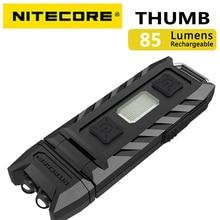 100% 원래 공장 가격 Nitecore Thumb 120 Tiltable USB 충전식 Worklight