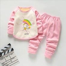 Bibicola детская одежда Костюмы комплекты весенне-Осенняя мода, длинный рукав, Однотонная одежда Зимний комбинезон для младенцев, Детский Повседневный комплект одежды