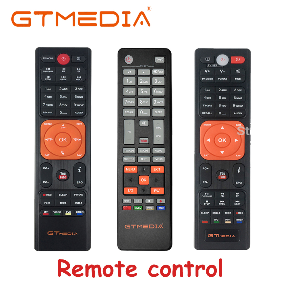 Original gtmedia Fernbedienung für gtmedia V8 nova/V8X/V9 super/V7s/V7 s2x satellite reciver higg qulity fernbedienung