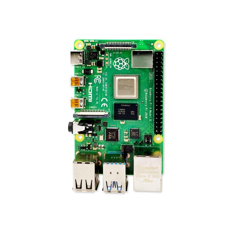 2019 nouvelle framboise officielle d'origine Pi 4 modèle B RAM 1G 2G 4G 4 Core 1.5Ghz 4K Micro HDMI Pi4B 3 vitesses que Raspberry berr Pi 3B + - 5