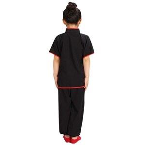 Image 5 - 판매 Wushu 제복 아이들 중국 전통 의류 아이 무술 제복 Kung Fu 한 벌 여아 소년 단계 성과 세트