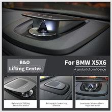 Klaxon central de voiture pour BMW X5 X6 F15 F16 F11 F10 F01 5 7 F07 série LED haut-parleurs de levage BO Kit de qualité Tweeter 4 pouces milieu de gamme basse