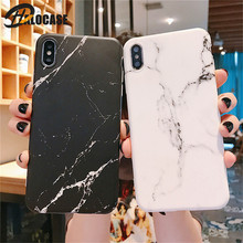 Luxury Matte Marble Silicone Soft TPU Phone Case For iPhone XS Max X XR 7 8 6 6s Plus Phone Back Cover Coque Silicon Fundas Capa цена и фото