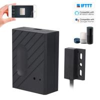 Wifi interruptor inteligente controlador de porta da garagem portas abridor controle remoto do telefone inteligente para amazon alexa google casa controle voz Controle remoto p/ portão     -
