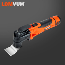 LOMVUM Multi-Function Electric Cutter Trimmer Saw Renovator Woodworking Oscillating Tools 300w Multimaster