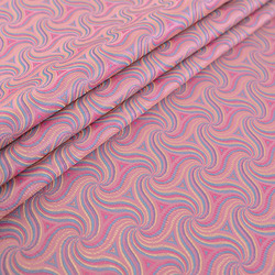 Brocade Fabric Satin Silk Material For Sewing Thread Pattern Doll Clothes DIY Needleworks