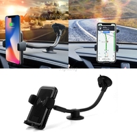 Qi Wireless Charger Holder Car Dashboard Windscreen Stand Fast Charging Car Mount Holder For Samsung iPhone X 8 Drop ship AUG_20