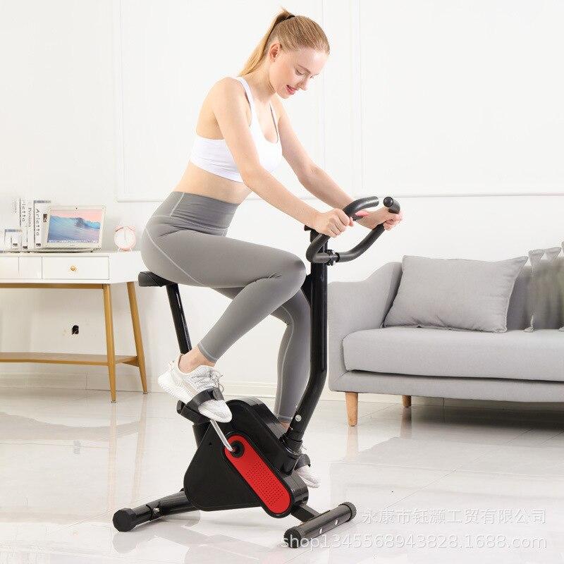 Регулируемый велотренажер для помещений, тренажерного зала, спорта, велоспорта, сверхтихий устойчивый к потере веса устойчивый велотренаж...
