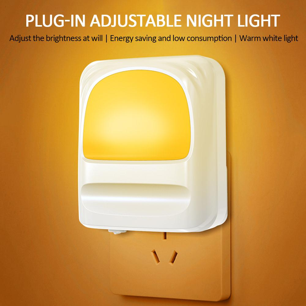 Creative Safety Lamp Toilet Night Light Automatic Ligh Sensing Energy Saving Indoor/Outdoor Induction Light Bright Dimmable