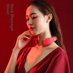 Image 2 - Masajeador eléctrico inteligente para cuello y hombros, herramienta para aliviar el dolor, relajación para el cuidado de la salud, fisioterapia de vértebra Cervical