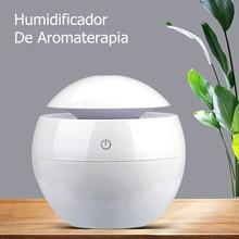 130ML USB Aroma Diffuser Ultraschall Kühlen Nebel Luftbefeuchter Luftreiniger 7 LED Farbe Ändern Nacht licht für Office Home