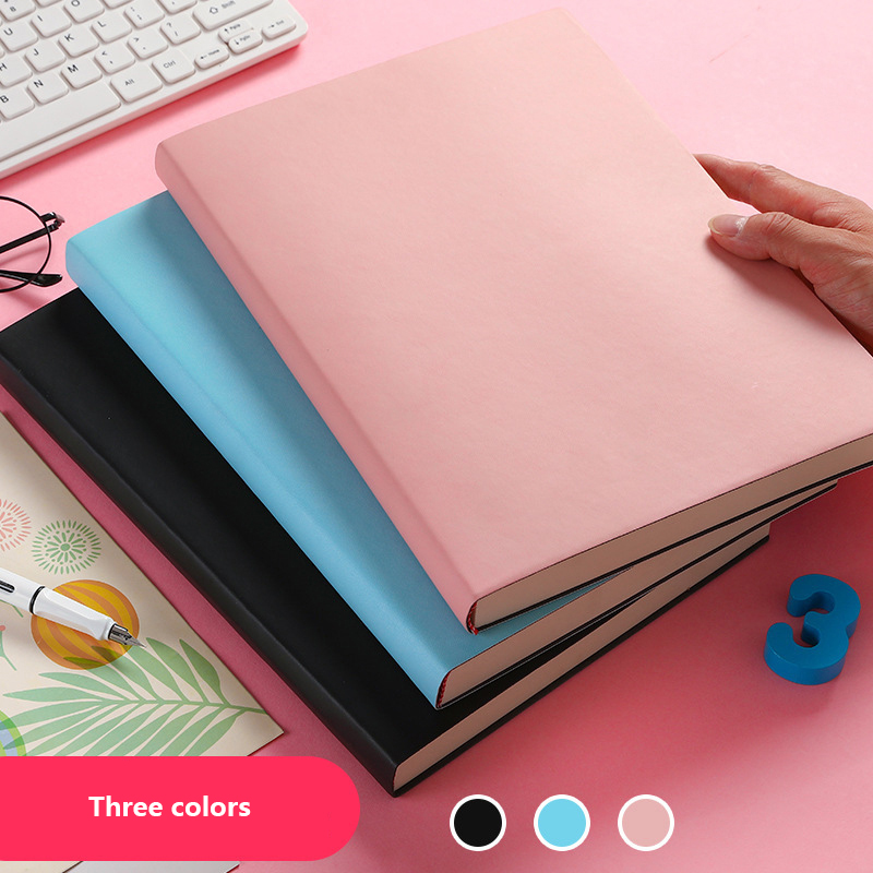 Cornell Note Large Thicken A4 Planner 29x21 Cm 416 Pages Lined Format Notebook School Homework Business Memopad Diary
