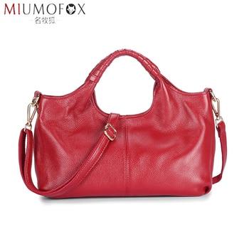 2020 New Arrival Women Bags Top Genuine Leather Handbag Large Capacity Hot Design Totes Shoulder Bag Soft Cowhide Messenger Bag