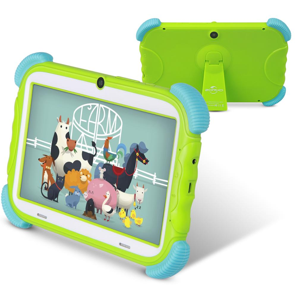 Free Shipping  Kids Tablet 7 Inch Android 8.1 16GB Babypad Edition PC With Wifi And Camera GMS Certified  Kids-Proof Case Stand