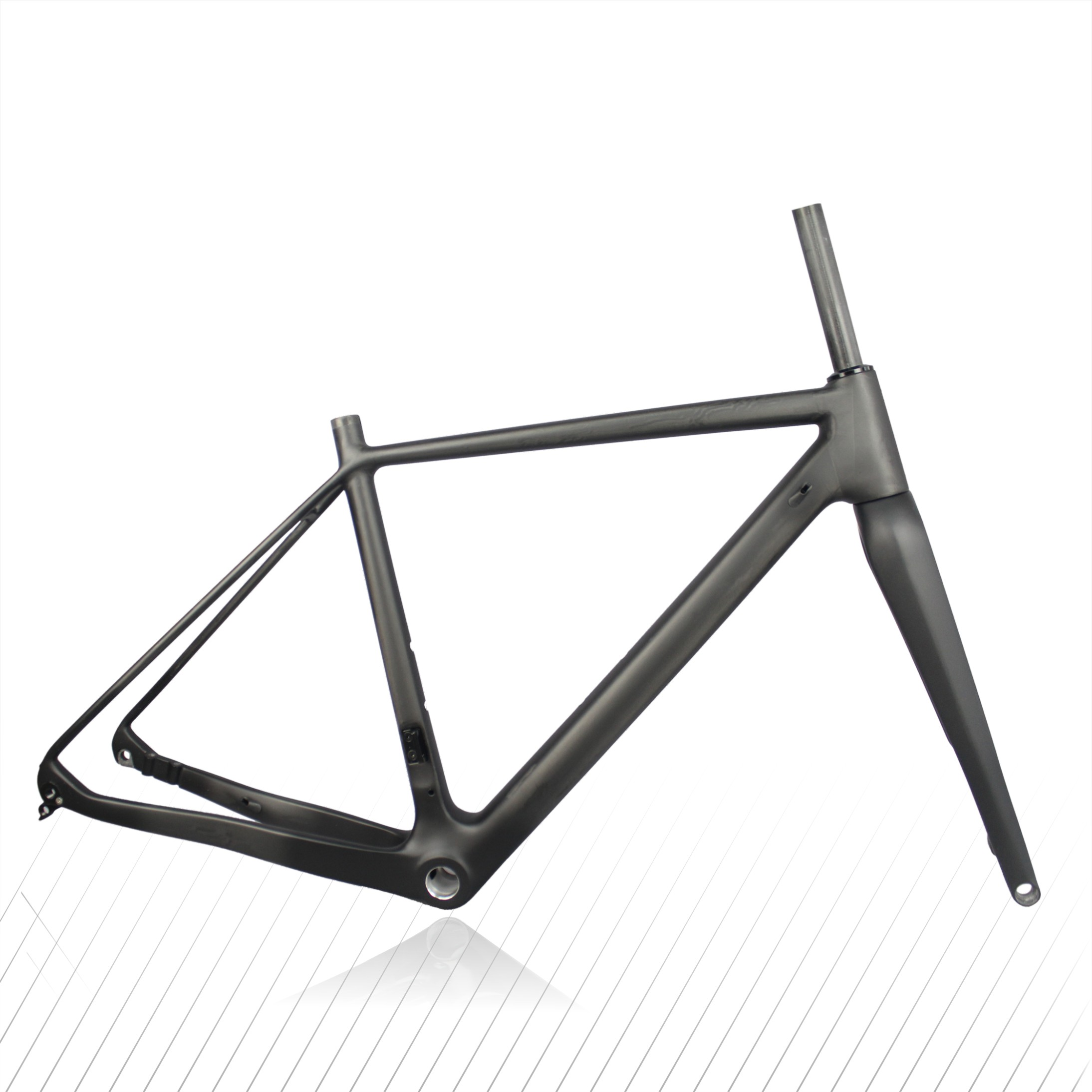 Miracle T700 Full Carbon CX Bike Frame,high Quality Carbon Cyclocross  Bicycle Frame,160mm Disc Cyclocross Carbon Bike Frame