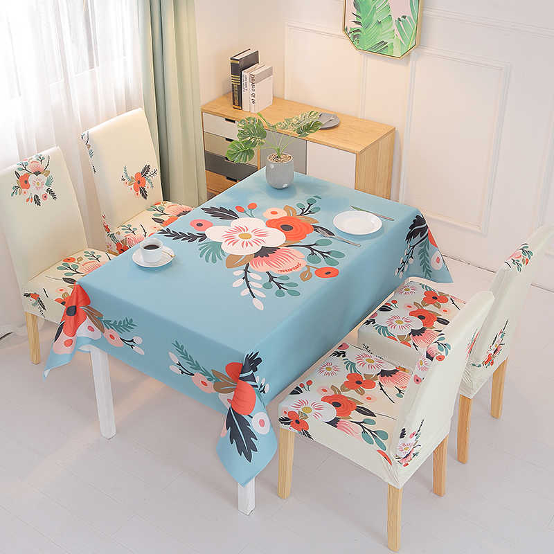 Tablecloths And Chair Covers Rectangle Desk Cloth Waterproof Tablecloth Dining Table Cover Tea Table Cartoon Wipe Covers Tablecloths Aliexpress