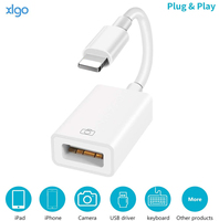 Lightning to USB 3.0 Camera Reader Adapter Connector Kit Data OTG Cable For iPhone 12 7 8P 6 X XR Xs Max 11Pro/iPad 3 4 Mini Pro
