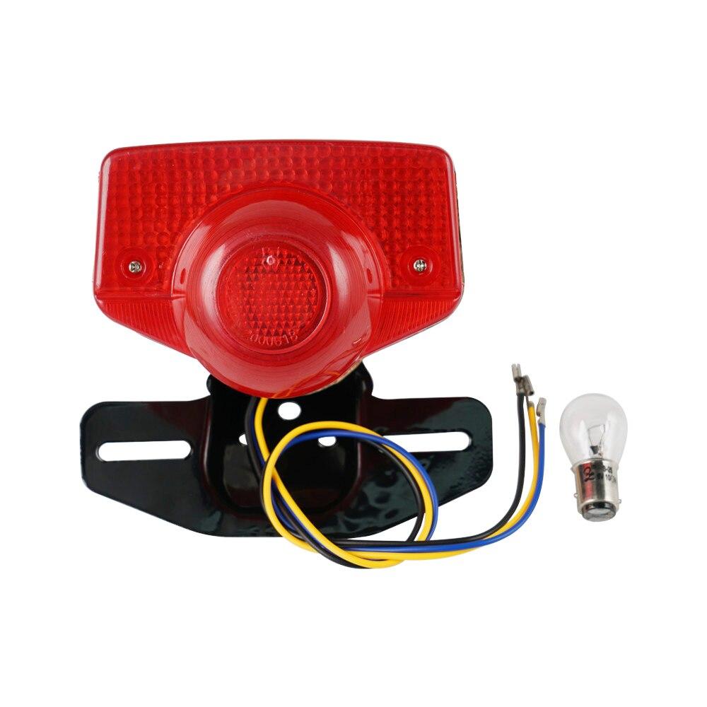 2pcs Phare Feu Arrière Ampoule Lampe Pour Honda CL70 90 CM91 CT70 CT90 CT200 MR175