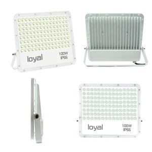 Image 2 - Led フラッドライト 30 ワット 50 ワット 100 ワット 200 ワット投光器ハニカム Led ライト屋外防水 IP66 Led リフレクター中庭正方形