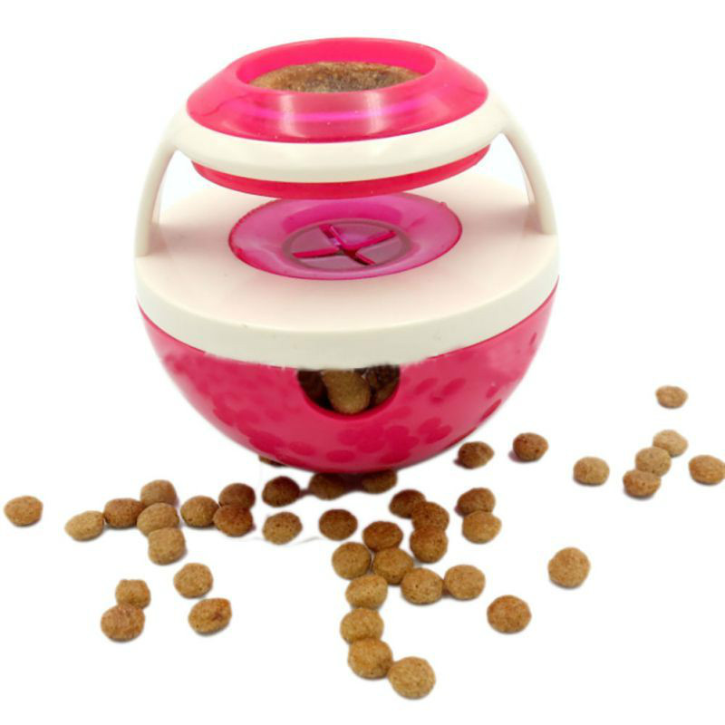 Funny bowl for dogs, dogs and cats, toy feeder, glass  leaks, food, training puppies, exercise, fun