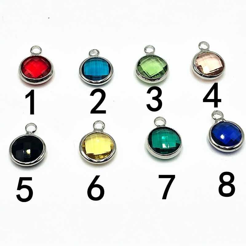 2019 جديد حار مكتبة كتاب الوقت الزجاج قبة المفاتيح 8 اللون كريستال سبائك يترك مجوهرات حلقة رئيسية هدية صغيرة