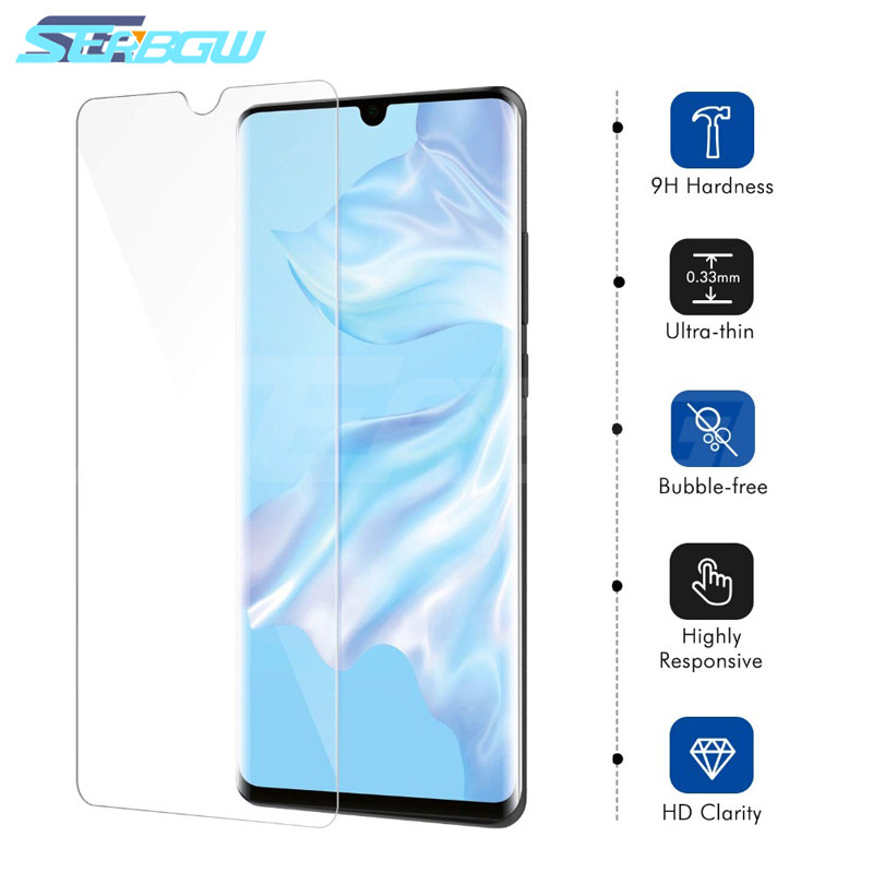 0.22mm Tempered Glass On The For Huawei P30 P20 Lite P20 Pro P10 Lite Plus P Smart Screen Protector Glass 9H Protective Film