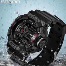 SANDA G Style Sports Men's Watches Top Brand Luxury Military Quartz Wat