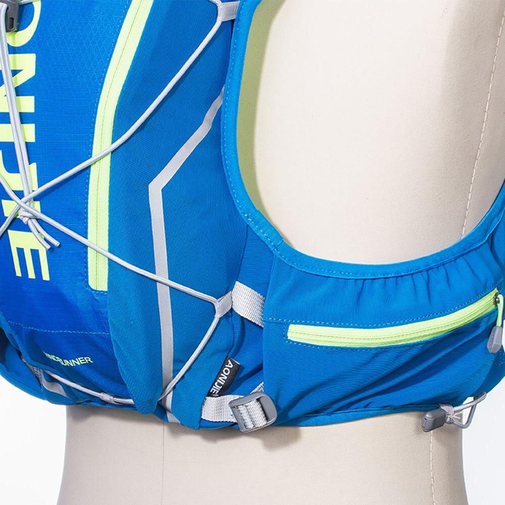 Aonijie Trail sac de course Fitness course accessoires sac à dos en plein air ultra léger randonnée Marathon course cyclisme sac à eau - 5