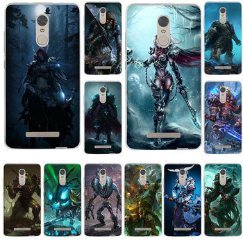 Soft Mobile Phone Case TPU Cover for Xiaomi Redmi Mi Note 2 3 3S 4X 4A 5 6 5 5S 5A 6 8 A1 Pro Plus Games Lich King Stormrage image