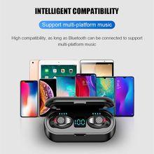 Hot Sale 5.0 Bluetooth Wireless Headphones F9 TWS Bluetooth