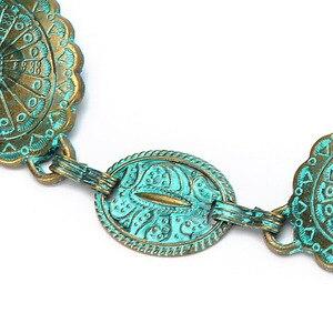 Image 4 - Badinka 2020 New Summer Vintage Metal Waist Chain Belt Female Boho Style Waistband Belts for Women Dresses Cinturon Mujer