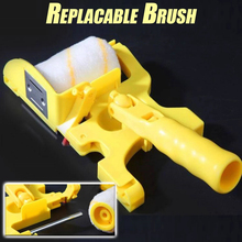 Portable Paint Edger Roller Brush Edge Banding Machine Tool  for Home Room Wall Ceilings Replacable For Narrow Space