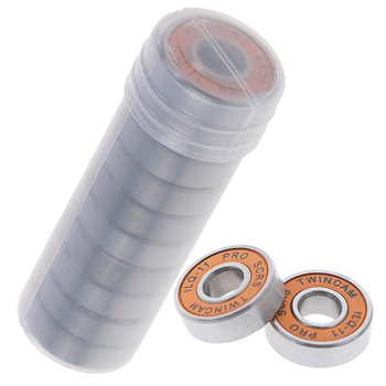 Hot! 10Pcs ILQ-11 Skate Scooter No Noise Oil Lubricated Smooth Skate Scooter Bearing Longboard Speed Inline Skate Wheel Bearing
