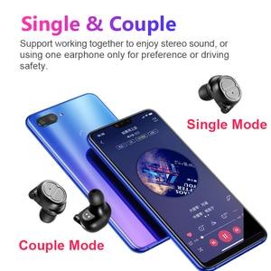 Image 5 - Sanlepus Tws Oortelefoon Draadloze Hoofdtelefoon Bluetooth Oortelefoon Sport Headset Air Oordopjes Met Microfoon Voor Telefoon Xiaomi Android