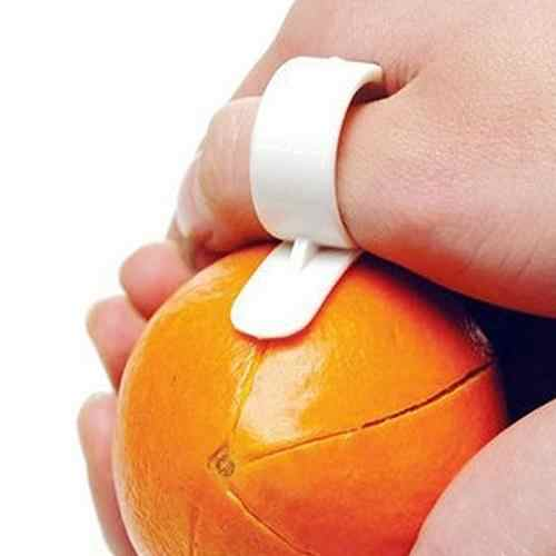 New Creative Mini Convenient Barker Ring Type Clever Potable Open Orange Device