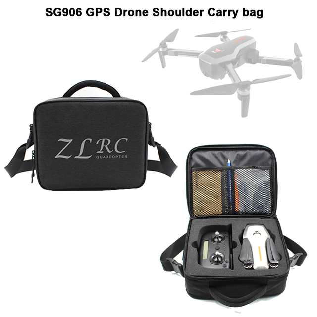 LAUMOX SG906 RC Drone Spare Parts Portable Storage Bag Backpack Carrying Case Box for SG906 W10 Brushless GPS 5G Wifi Dron