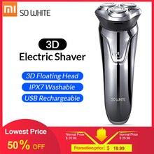SOOCAS SO WEIß ES03 Elektrische Rasierer 3D maschine für rasieren xiaomi rasierer mann trimmer Bart Nase Haar Elektrische rasiermesser