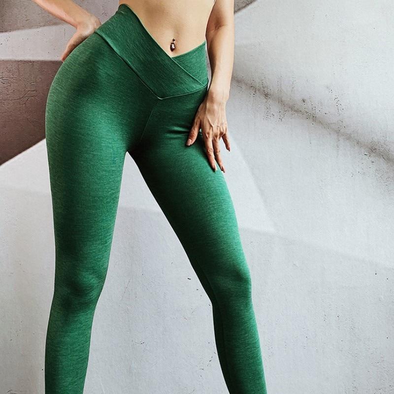 Women Push Up Compact Leggings Fitness High Waist Activewear Leggins Workout High Elastic Femme Jegging Casual 2020 Sweatpants