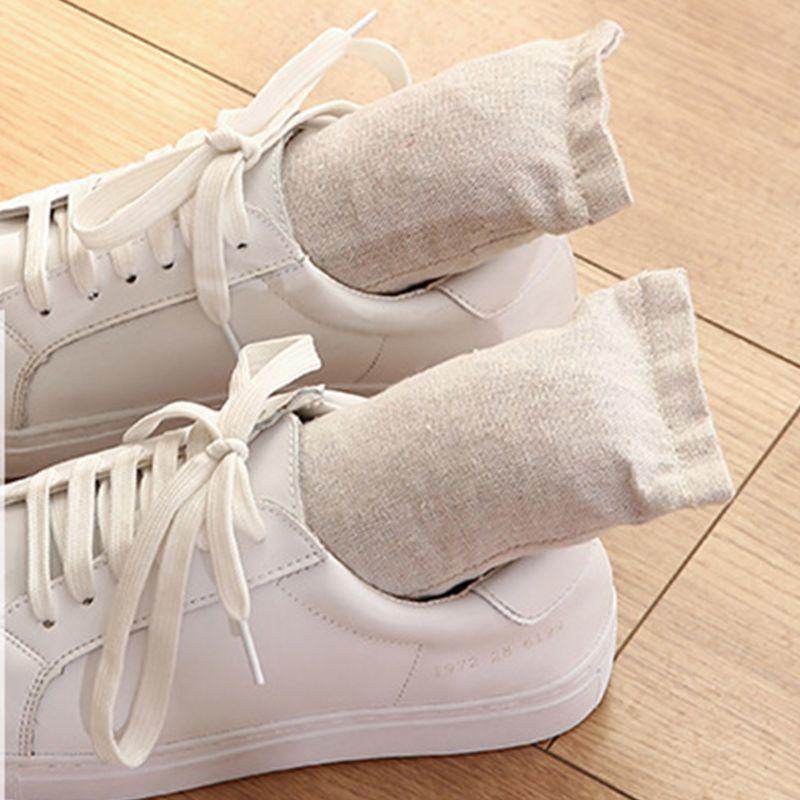 Shoes Deodorant Charcoal Bag Antibacterial Deodorizing Carbon Absorbent Dodorizations Shoe Plug  Q0KD