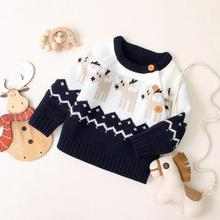 Baby Kids Sweaters Clothes Christmas Outerwear