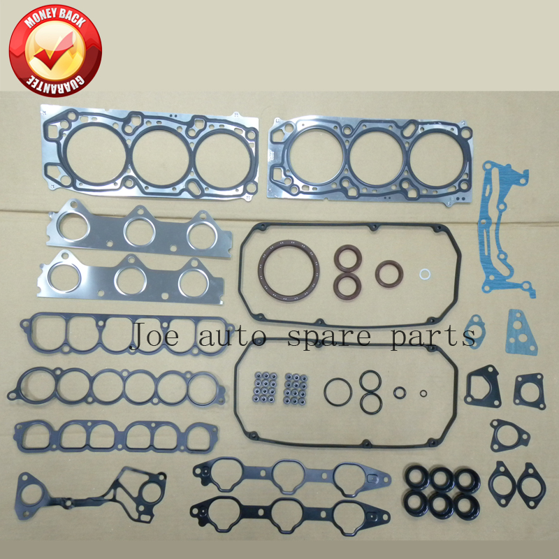 6G75 V77W Engine complete Full Gasket Set kit for Mitsubishi Montero/Eclipse/Pajero 3.8L 3828CC 2002- 50239500 MD979167 image