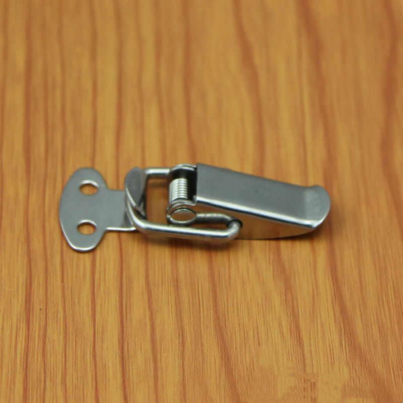 6Pcs קפיץ מזוודה חזה כלי תיבת נעילת Toggle נועל Hasp נעילת חומרה, בטוח ונוח הוא הבחירה שלך
