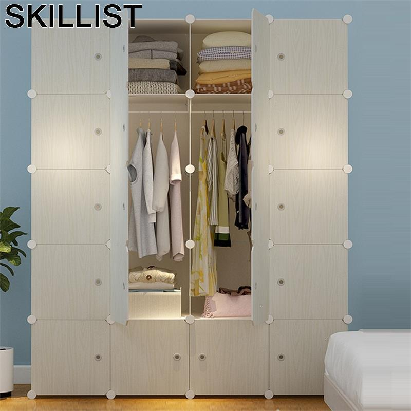 Guardaroba Ropero Dresser For Armario Armoire Rangement Storage Closet Cabinet Mueble De Dormitorio Bedroom Furniture Wardrobe