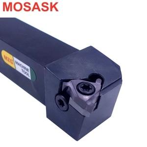 Image 1 - MOSASK SEL cortador de torneado de Metal, vástago roscado sel16h16, insertos de rosca, torno CNC, soportes de herramientas de roscado