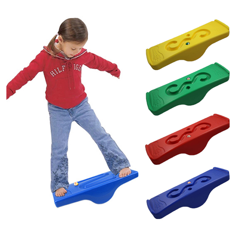 US $19.17 35% OFF|Schaukel Wippe Sport Kinder Kind Balance Board Hinterhof Spiele Sensorische Integration Spielzeug Autismus Indoor Outdoor
